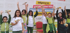 ÇAMLICA OKULLARINDA MISIR PARTİSİ