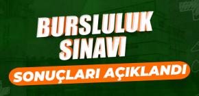 BURSLULUK SINAVI SONUÇLARI AÇIKLANDI