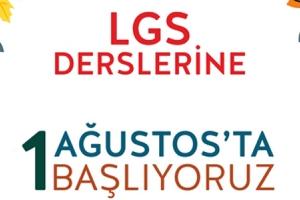 LGS DERSLERİMİZ BAŞLIYOR